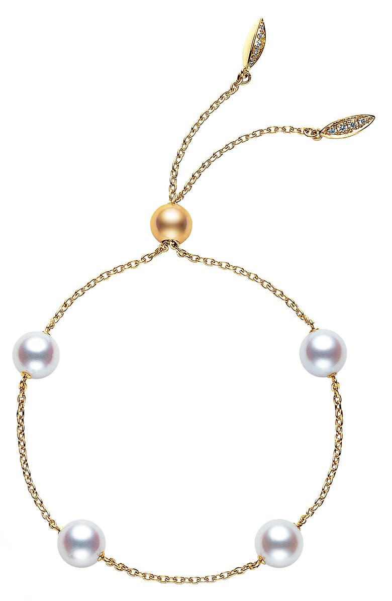 Japan Collections Pearl Slide Bracelet by Mikimoto
