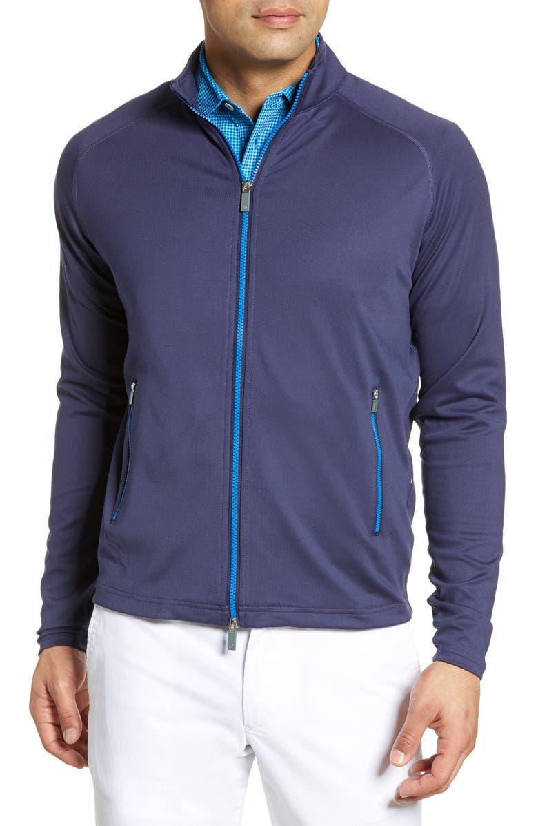 PETER MILLAR Chamonix Power Track Jacket, Main, color, 410