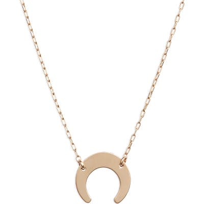 Marida Crest Pendant Necklace