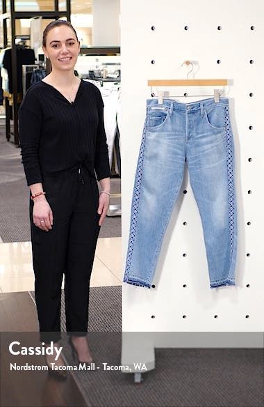 Emerson Crop Slim Boyfriend Jeans, sales video thumbnail