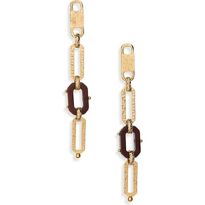 Gas Bijoux Escale Linear Chain Earrings