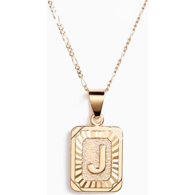 Bracha Initial Pendant Necklace
