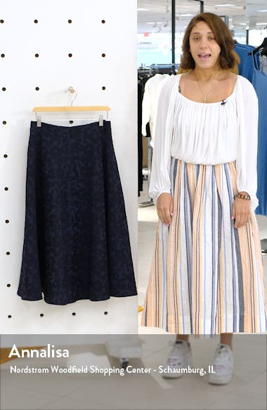 Jacquard Circle Skirt, sales video thumbnail