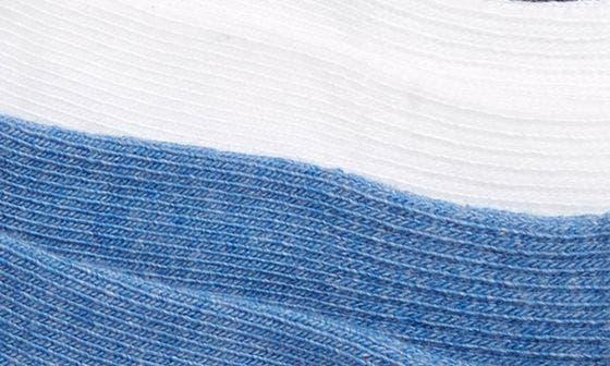 BLUE HEATHER-WHITE-NAVY