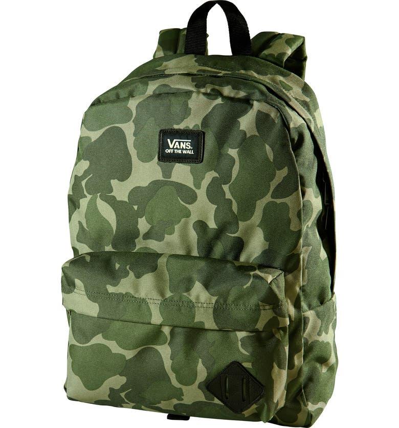 VANS 'Old Skool II' Backpack, Main, color, 001