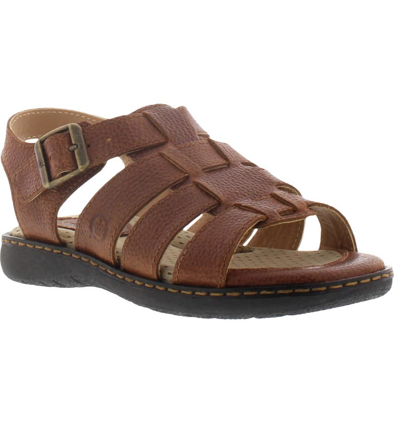 BØRN Dilon Joshua Fisherman Sandal, Main, color, BROWN
