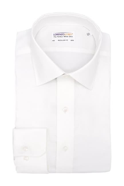 Image of Lorenzo Uomo Royal Oxford Regular Fit Dress Shirt
