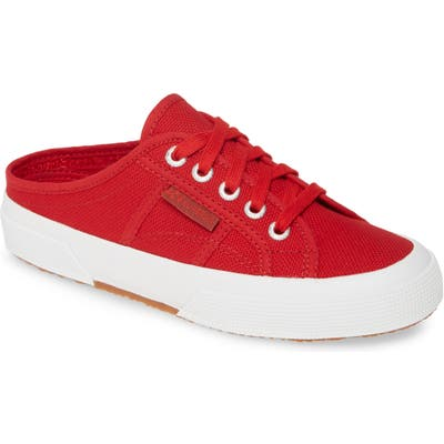 Superga 2551 Cotu Mule Sneaker - Red
