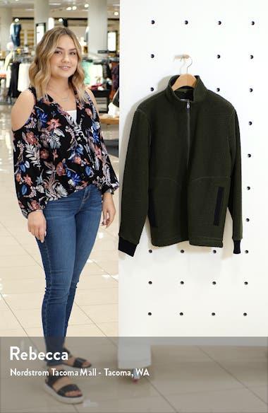 Slim Fit Fleece Jacket, sales video thumbnail