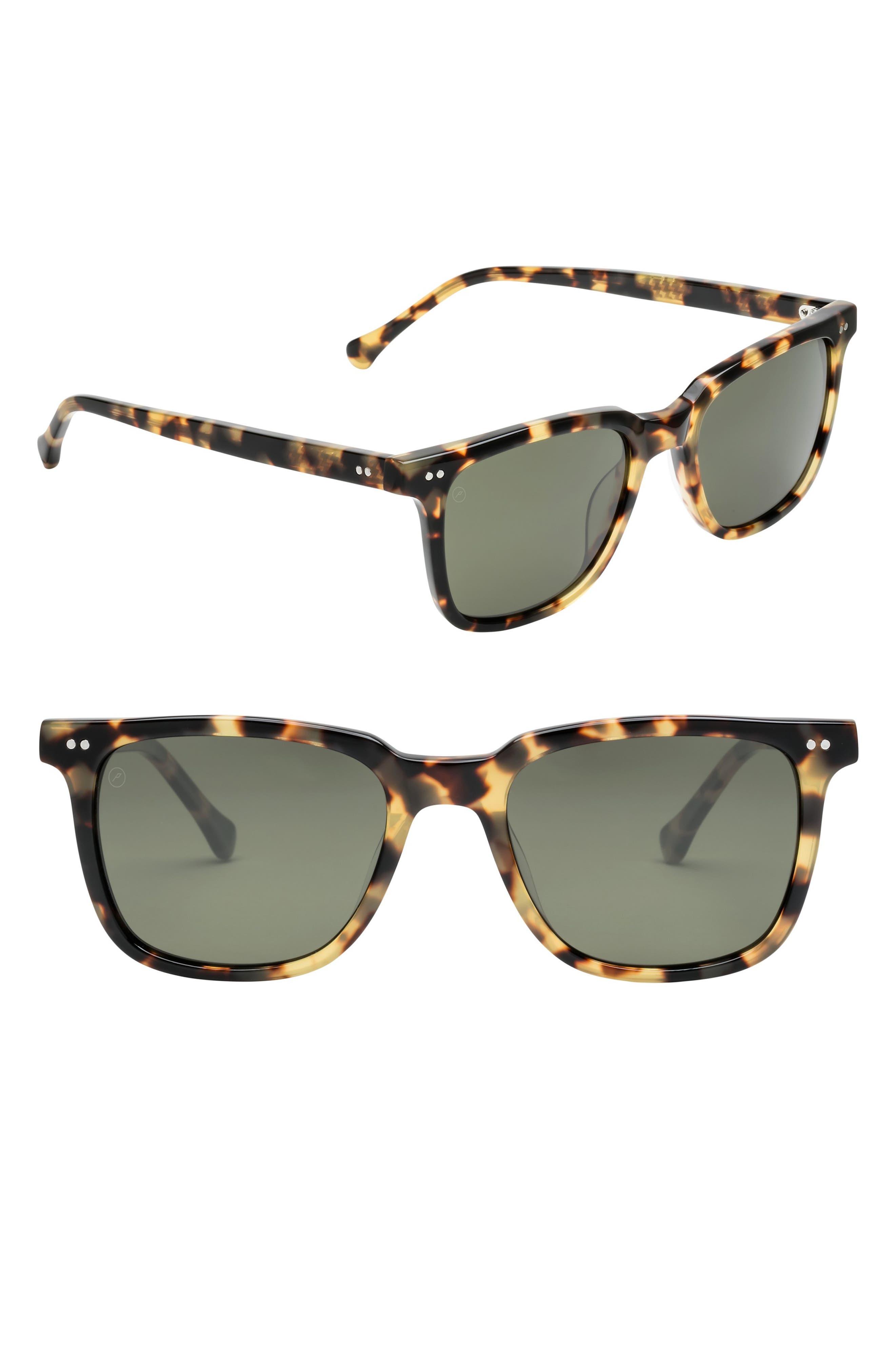Birch 53mm Polarized Square Sunglasses