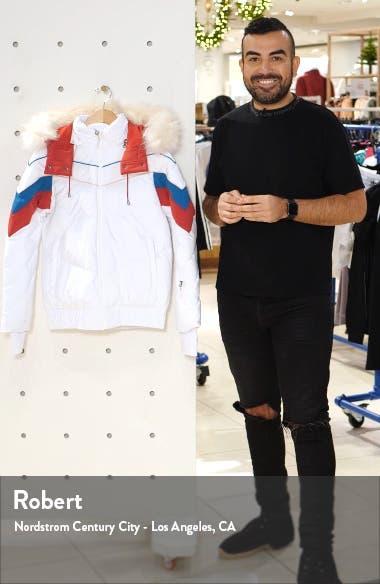 Powder Faux Fur Trim Ski Jacket, sales video thumbnail