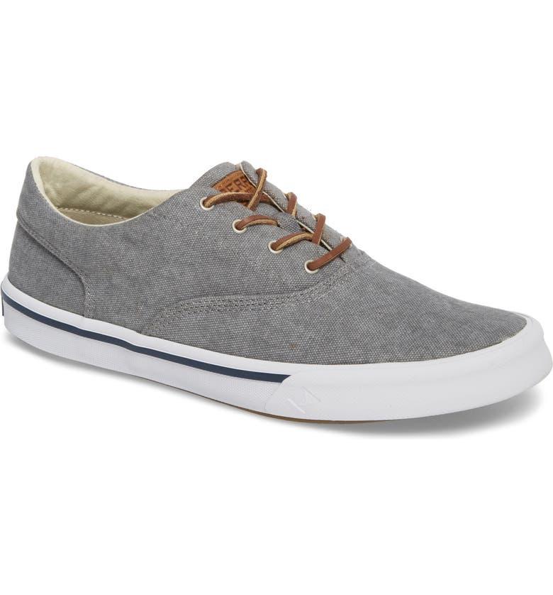 SPERRY Striper 2 CVO Sneaker, Main, color, GREY CANVAS