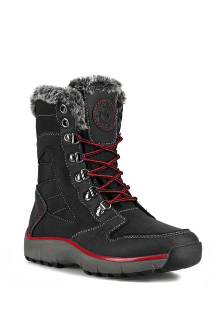 Image of Aquatherm by Santana Canada Nevis Faux Fur Lined Waterproof Boot