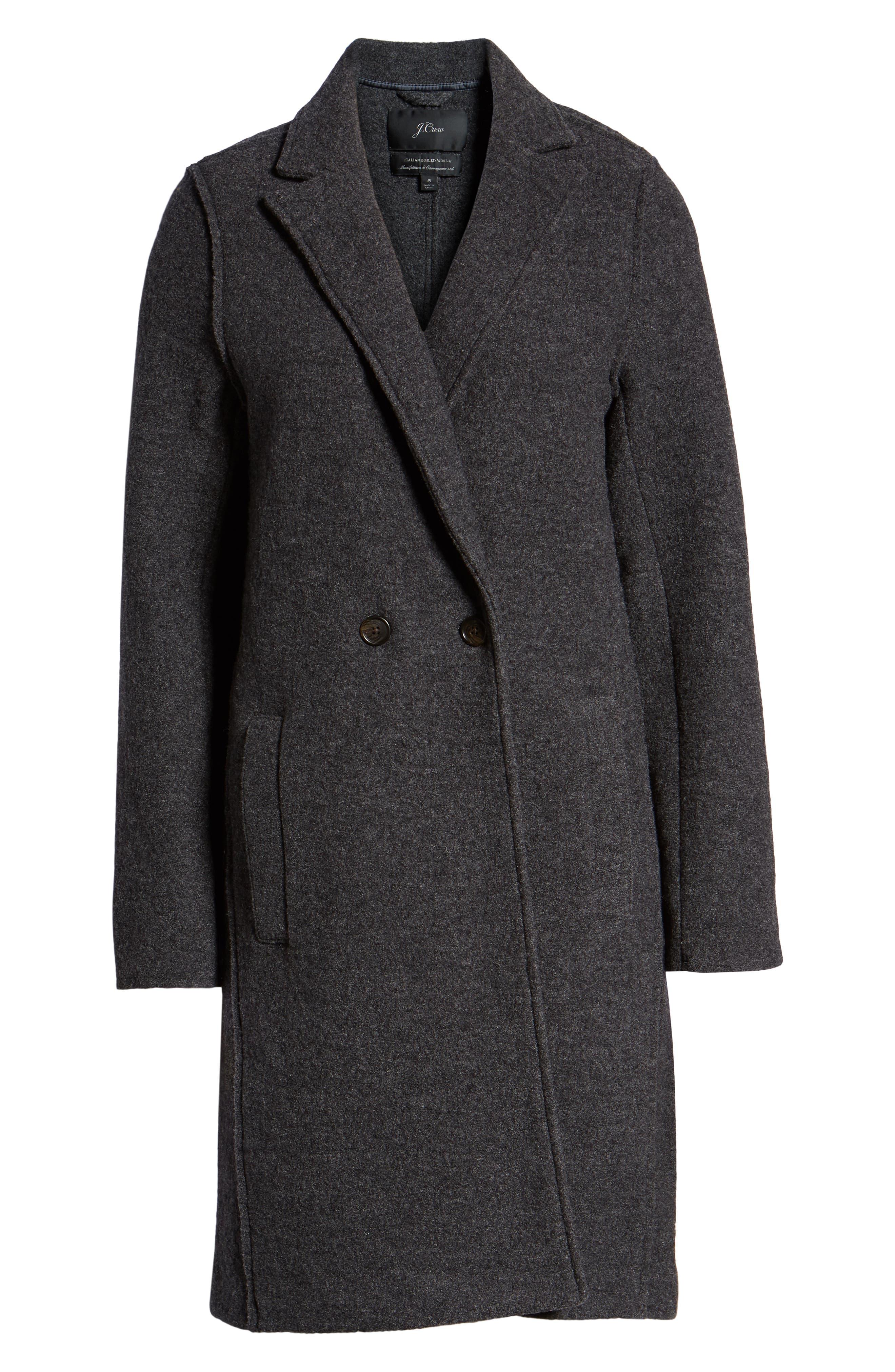 ,                             Daphne Boiled Wool Topcoat,                             Alternate thumbnail 15, color,                             022