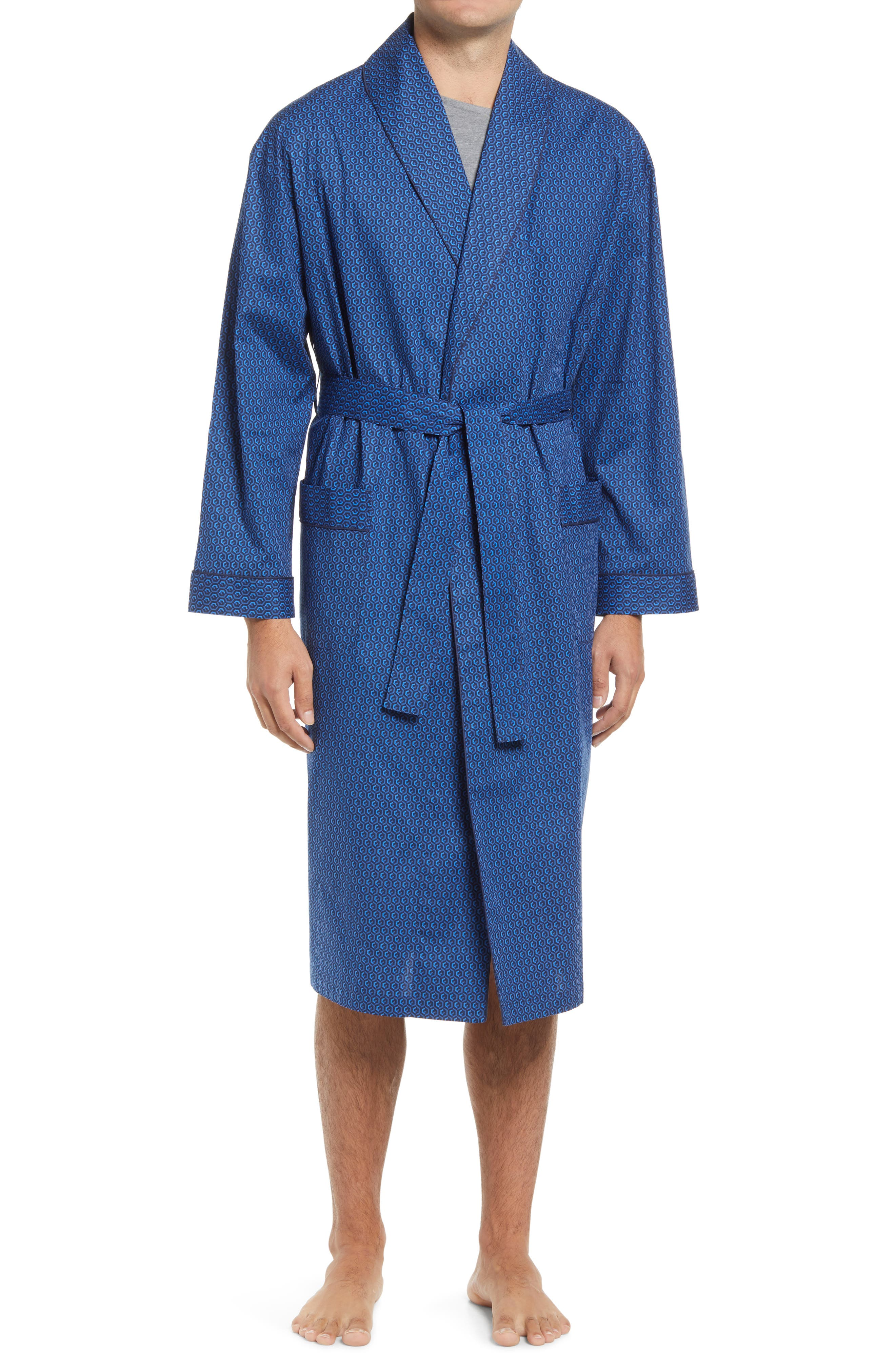 Men's Stretch Out Shawl Collar Robe