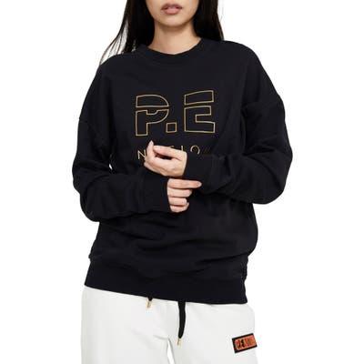 P.e Nation Heads Up Metallic Sweatshirt