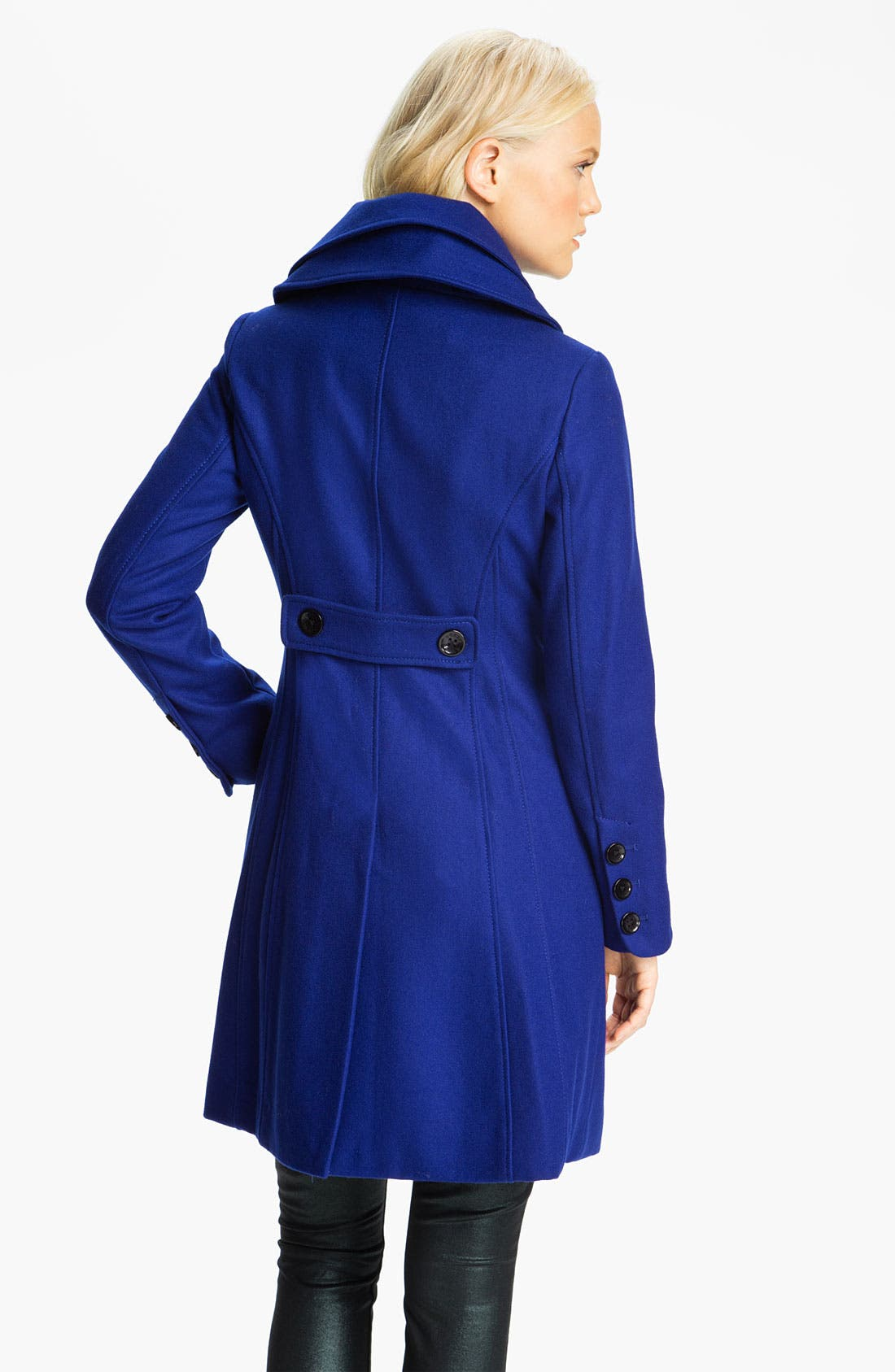 ,                             Double Collar Coat,                             Alternate thumbnail 9, color,                             400