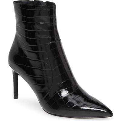 Jeffrey Campbell Khalees Pointy Toe Bootie- Black