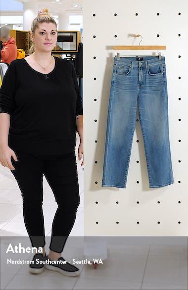 Alexa High Waist Crop Wide Leg Jeans, sales video thumbnail