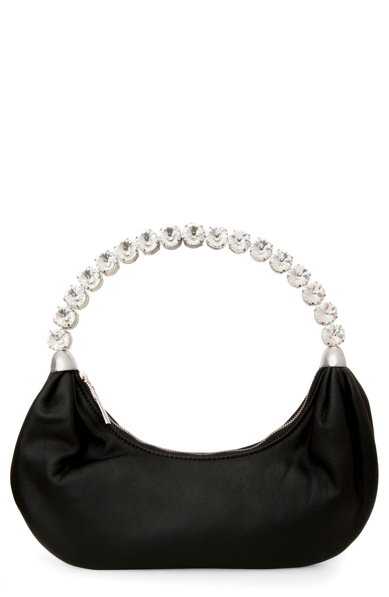 Banana Crystal Top Handle Bag
