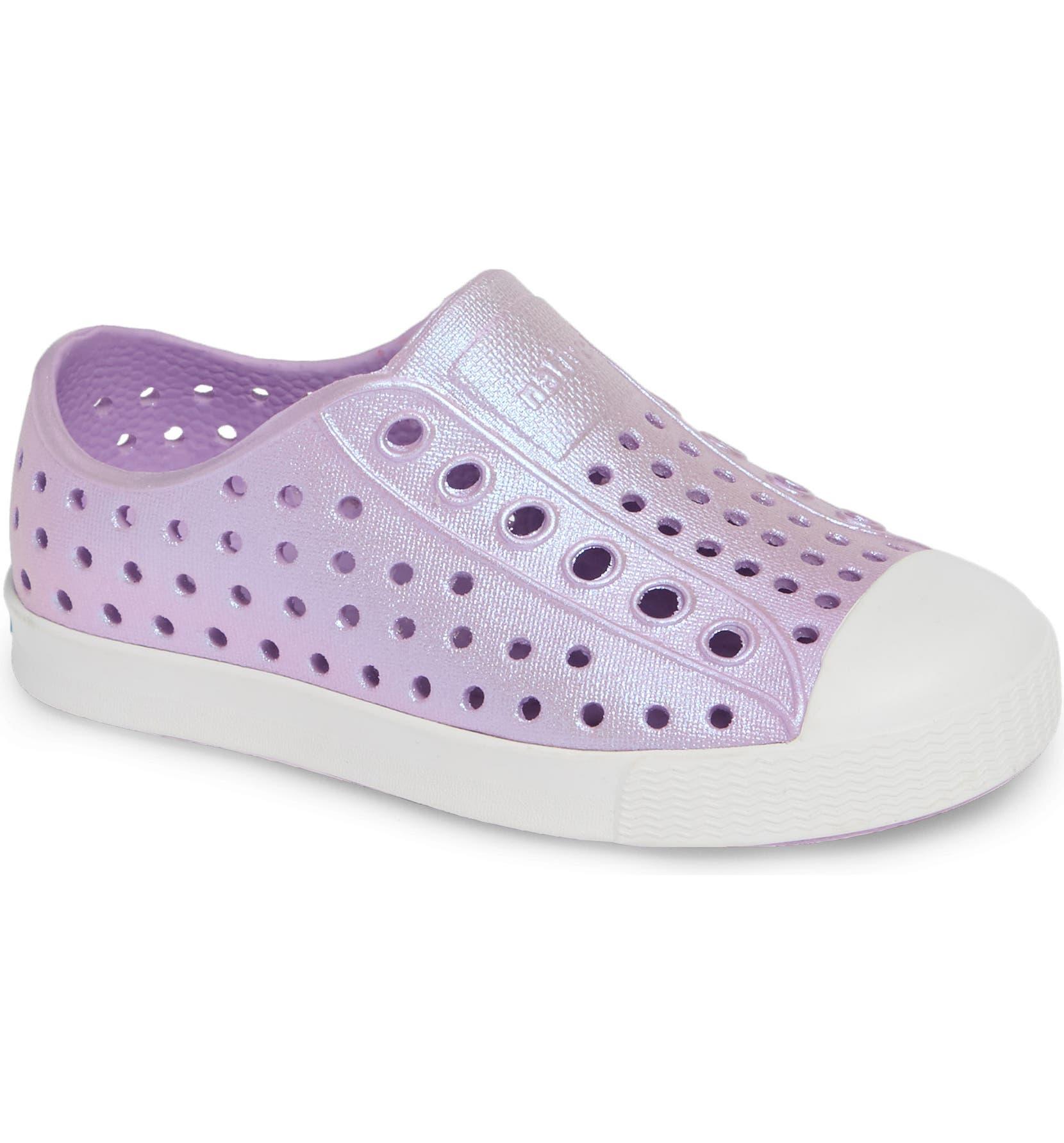 6216a7c75115 Native Shoes Jefferson Iridescent Slip-On Vegan Sneaker (Baby, Walker,  Toddler & Little Kid) | Nordstrom