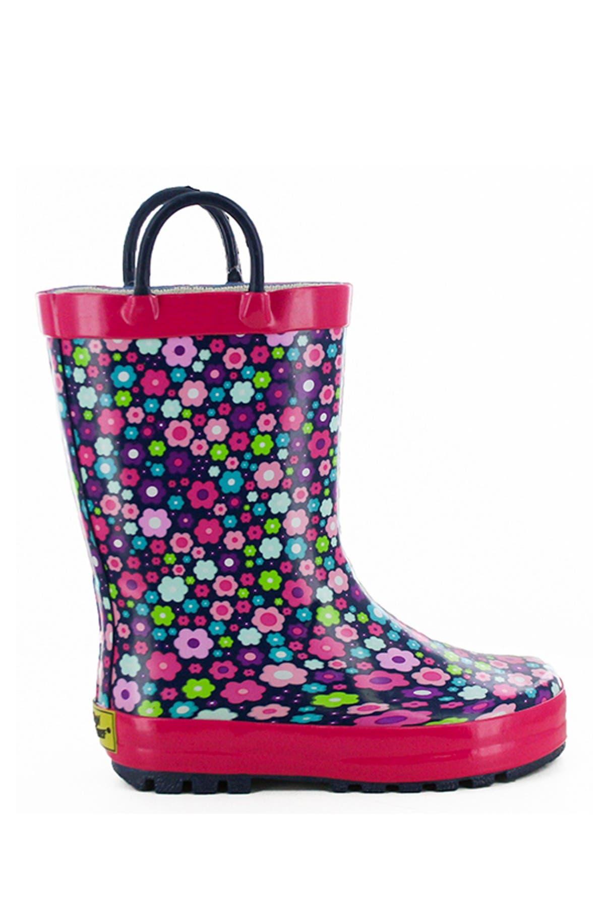 Western Chief Blossom Blast Waterproof Rain Boot