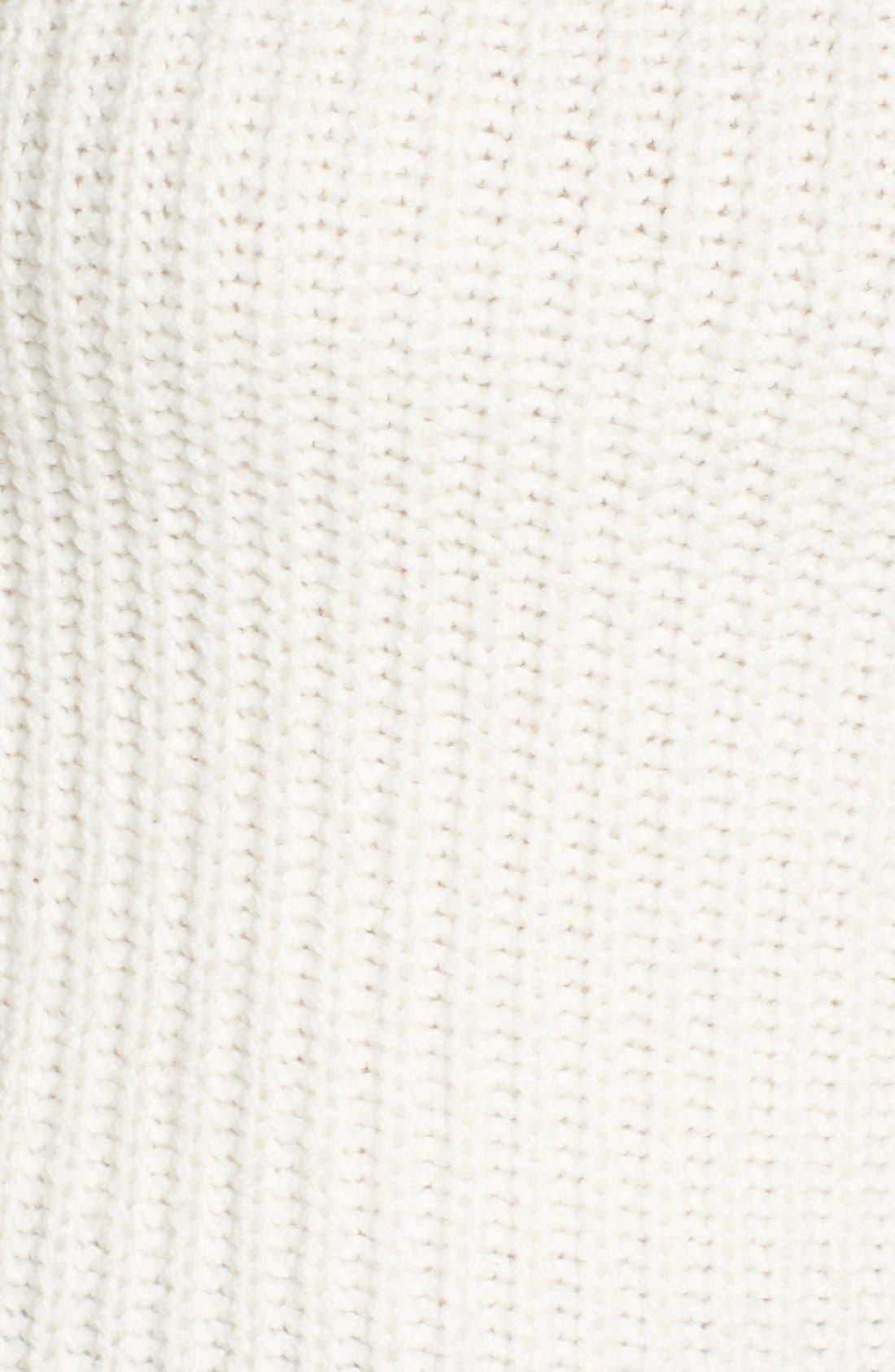 ,                             Mock Neck Sweater,                             Alternate thumbnail 6, color,                             900