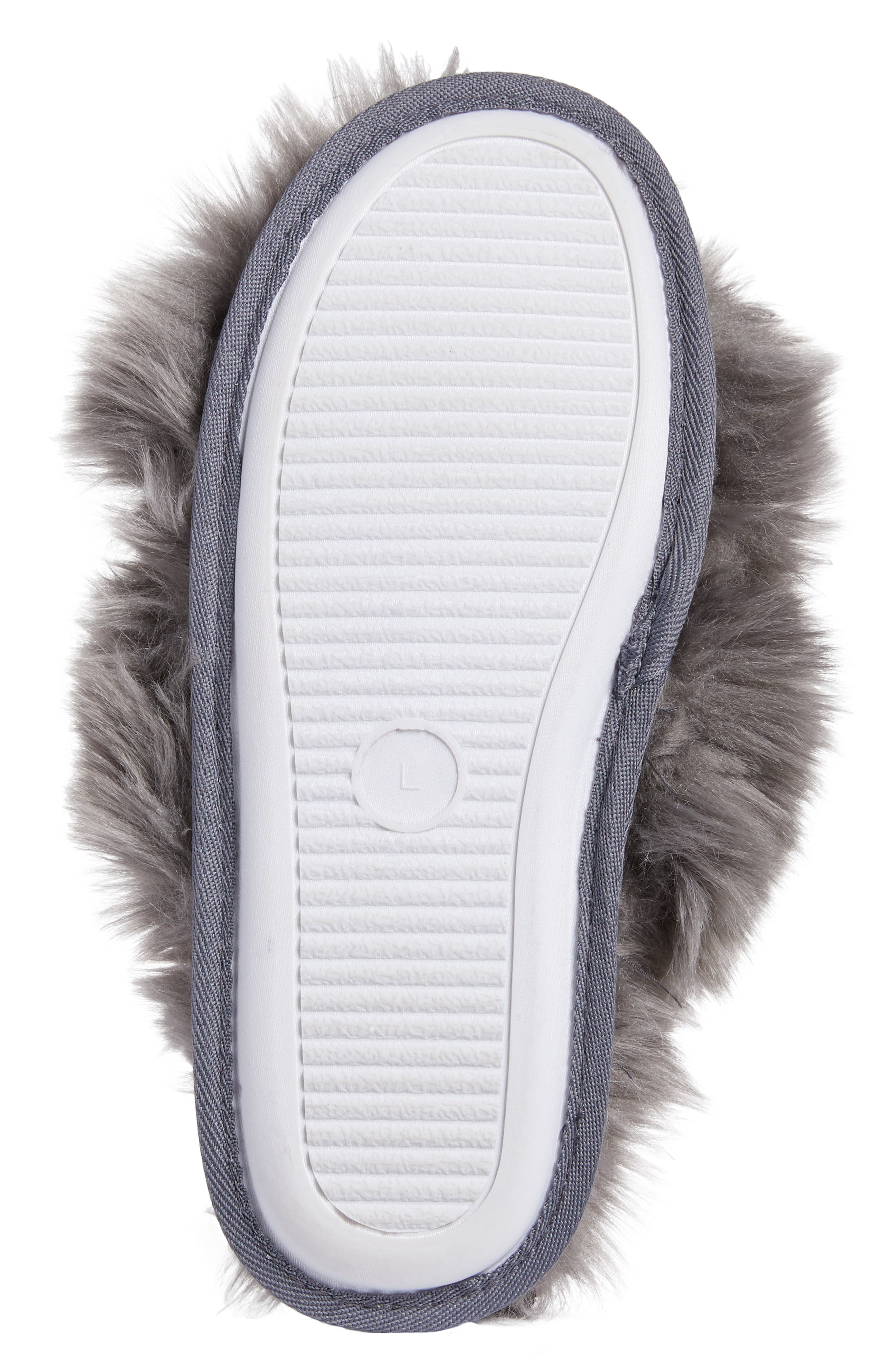 ,                             Cuddle Plush Faux Fur Scuff Slipper,                             Alternate thumbnail 13, color,                             021
