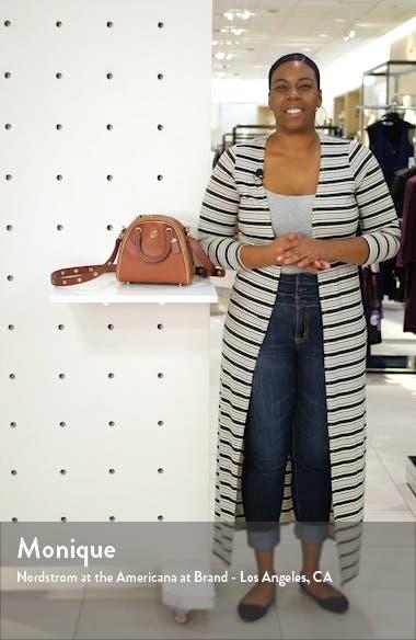 Marleigh 20 Colorblock Goatskin Leather Satchel, sales video thumbnail
