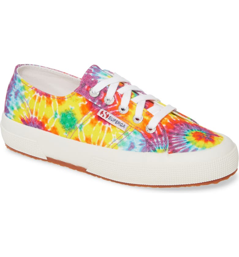 SUPERGA 2750 Fabricfaintiedtye Sneaker, Main, color, TIE DYE