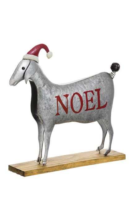 """Image of ALLSTATE 14"""" H x 14.75"""" L Noel Sheep with Hat"""