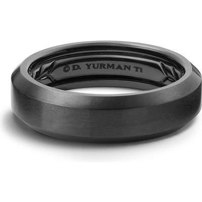 David Yurman Beveled Titanium Band