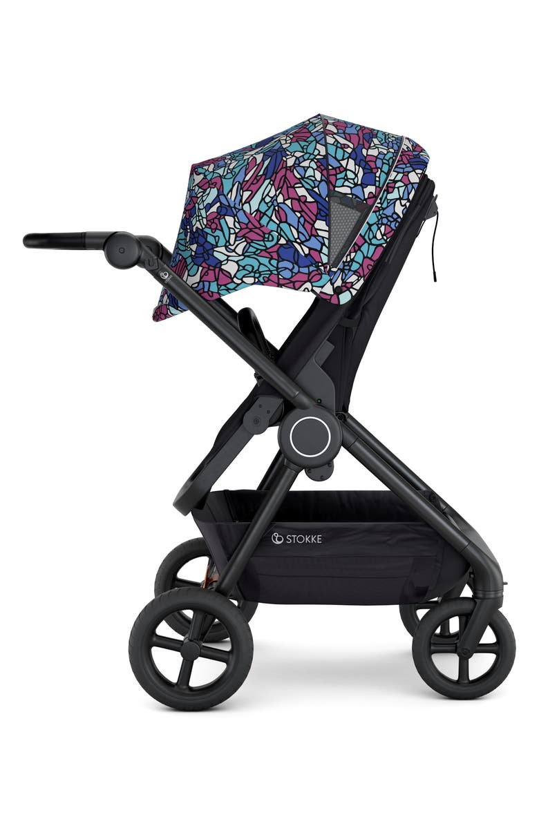 STOKKE Beat<sup>™</sup> Jayson Atienza Limited Edition Compact Urban Stroller, Main, color, MULTI