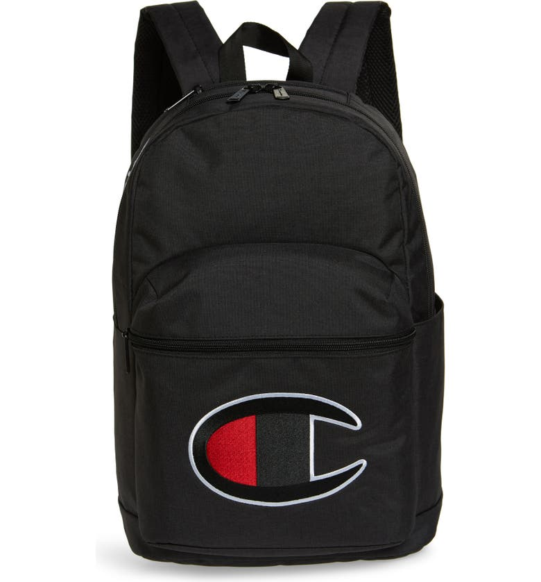 CHAMPION Supercize 2.0 Backpack, Main, color, BLACK