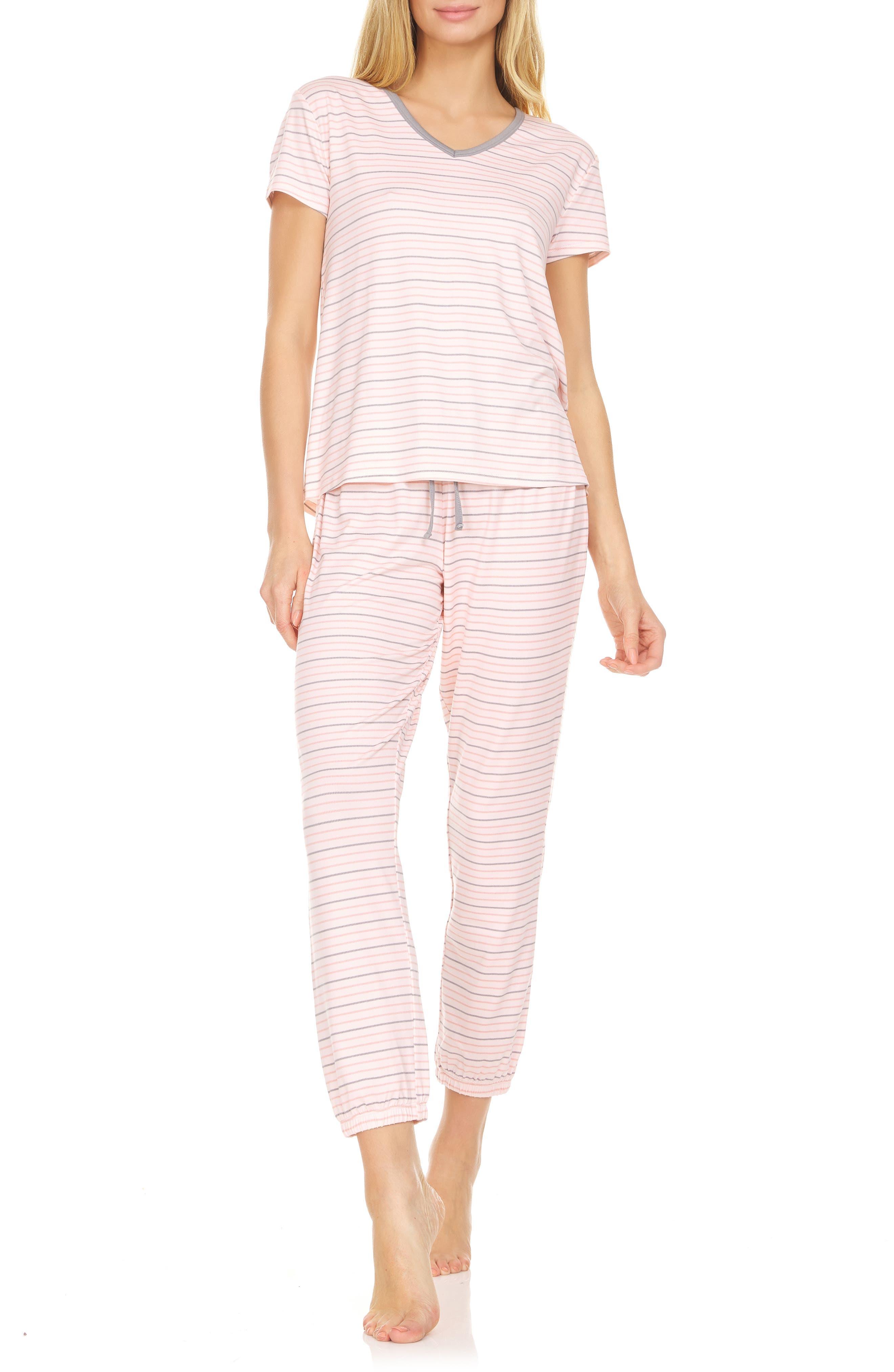Women's Flora Nikrooz Elsa Print Jersey Pajamas