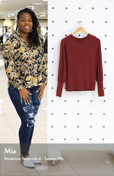 Puff Sleeve Sweater, sales video thumbnail