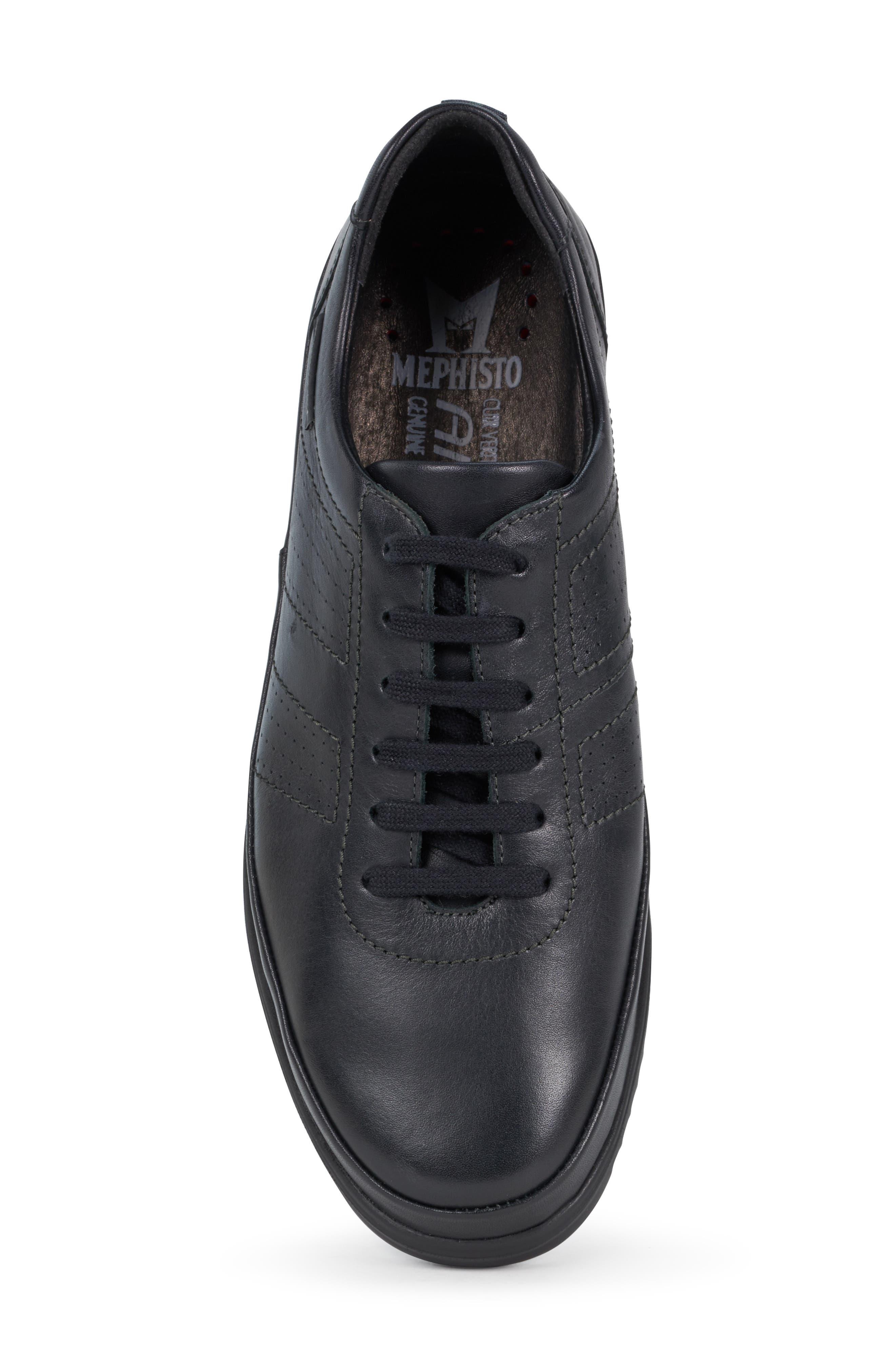 ,                             Tomy Sneaker,                             Alternate thumbnail 5, color,                             BLACK LEATHER