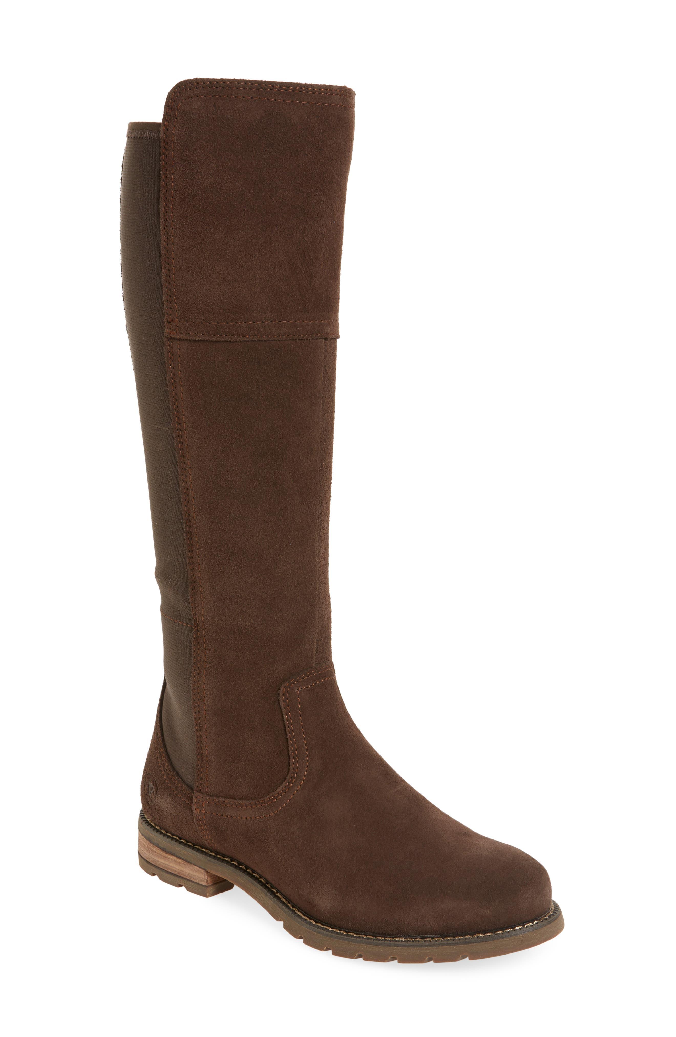 Ariat Sutton Waterproof Tall Boot- Brown