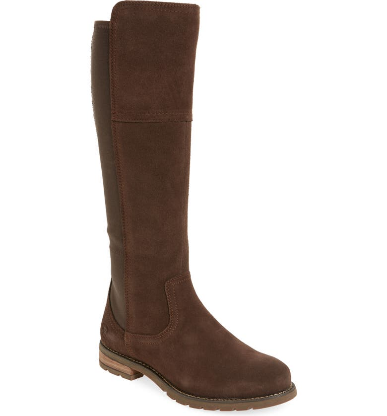 ARIAT Sutton Waterproof Tall Boot, Main, color, CHOCOLATE LEATHER