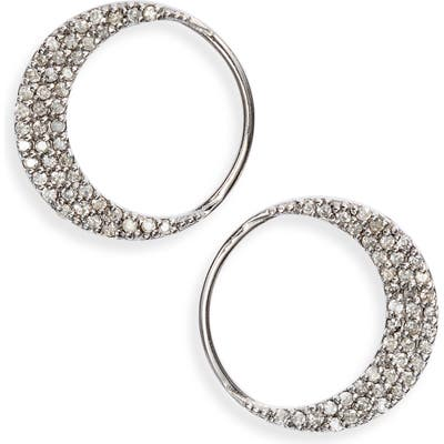 Sheryl Lowe Crescent Moon Earrings