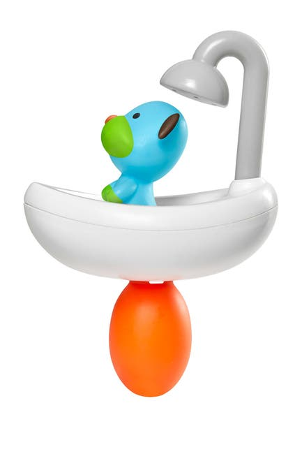 Image of Skip Hop Zoo Squeeze & Shower Dog Bath Toy