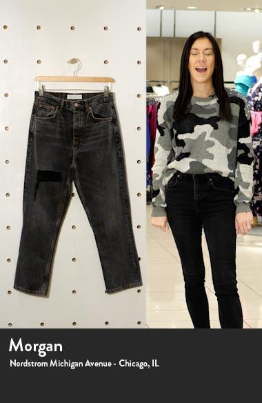 Ohio Ripped Straight Leg Jeans, sales video thumbnail