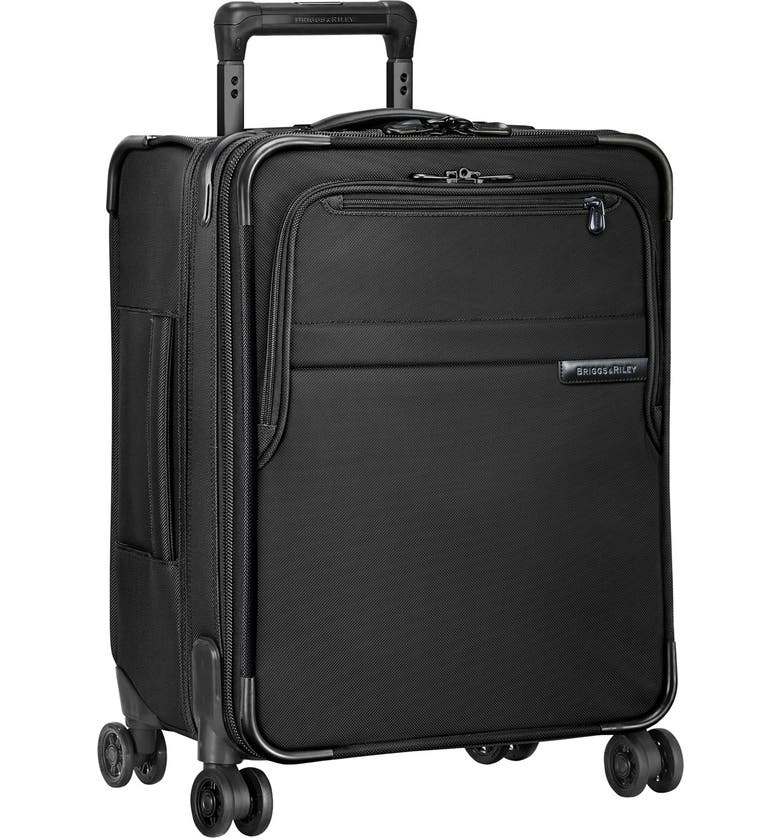 BRIGGS & RILEY Baseline Wide Body Expandable 21-Inch Rolling Packing Case, Main, color, BLACK