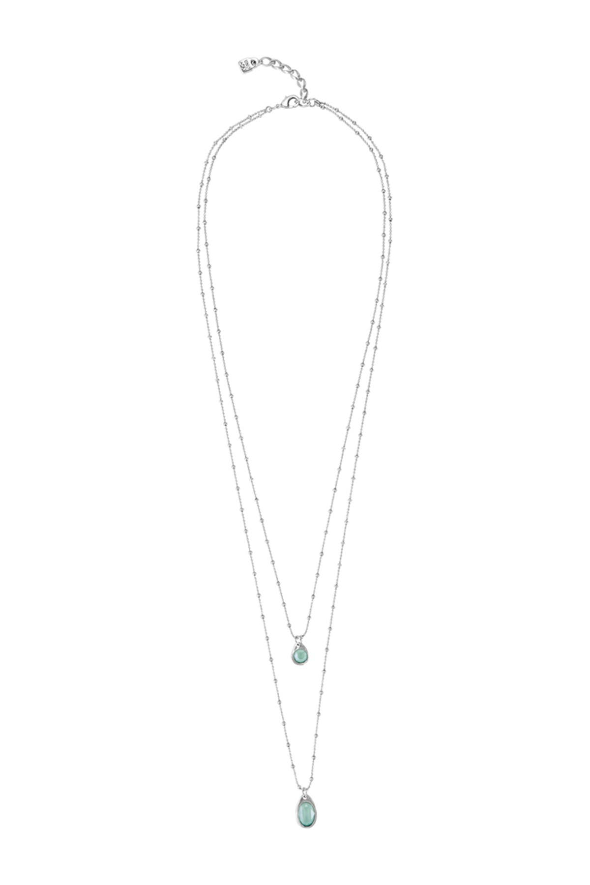 Image of Uno De 50 Wish Silver Plated Necklace