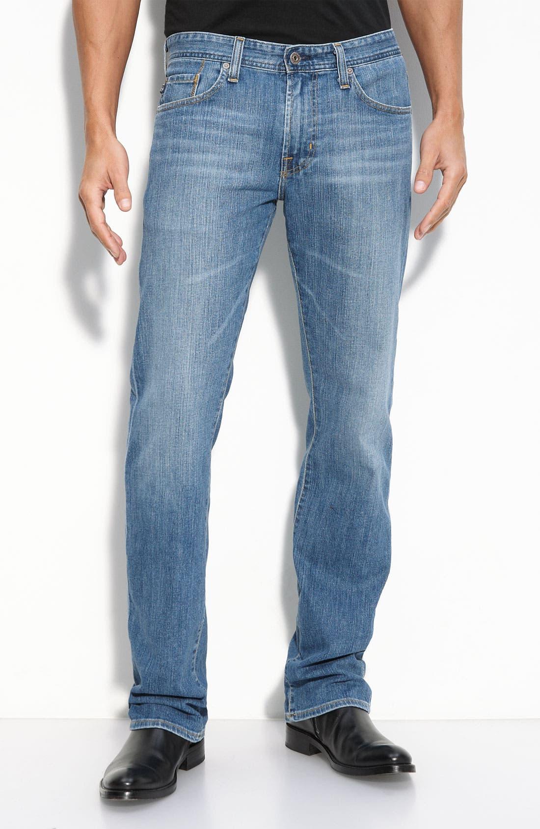 ,                             'Protégé' Straight Leg Jeans,                             Main thumbnail 41, color,                             450