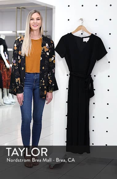 Belted Crop Jumpsuit, sales video thumbnail