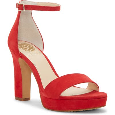 Vince Camuto Sathina Sandal, Red