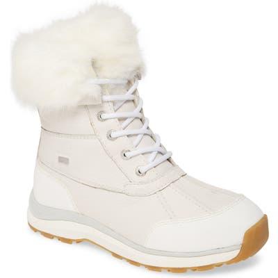 UGG Adirondack Iii Waterproof Boot- White