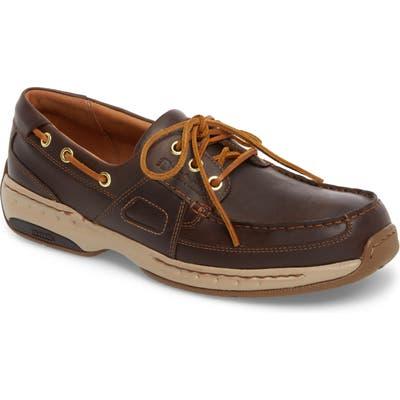 Dunham Ltd Water Resistant Boat Shoe, EEEEEE - Brown