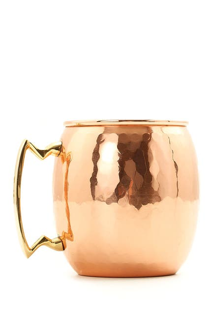Image of ODI HOUSEWARES Hammered Solid Copper 16 oz. Moscow Mule Mug